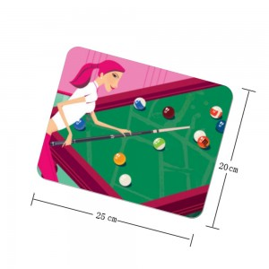"""Billiards"" mouse pad"