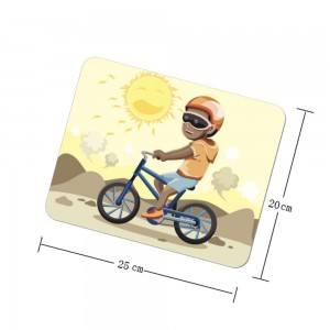"""Bicycle"" mouse pad"