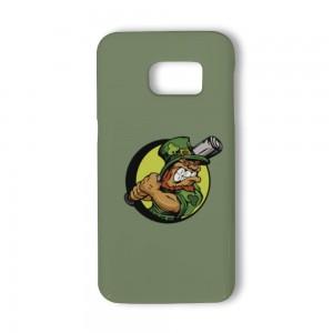 """Cartoon""""Baseball"" White TPU Phone case for SAMSUNG S6 S6E S7"