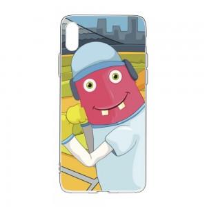 """Cartoon""""Baseball"" TPU Transparent Phone case for Mobile Phone"