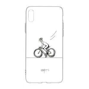 """Bicycle"" TPU Transparent Phone case for Mobile Phone"