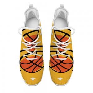 Orange Violet Cheerleading women's Leisure Sports Shoes