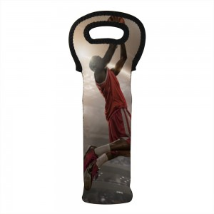 """Basketball"" Wine Bag-Single Bottle 7"" x 15"""