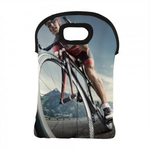 """Bicycle"" Wine Bag-Double Bottle 10"" x 13"""