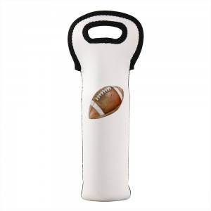 """Rugby"" Wine Bag-Single Bottle 7"" x 15"""