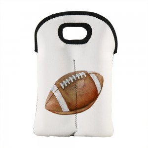 """Rugby"" Wine Bag-Double Bottle 10"" x 13"""
