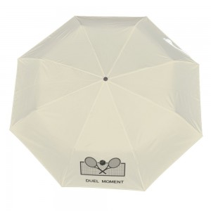 Tenis Customize Three fold Automatic umbrella