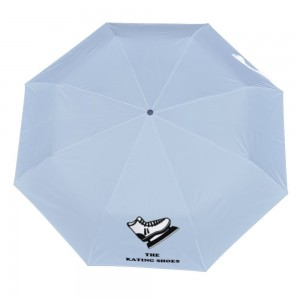 Shoe Customize Three fold Automatic umbrella