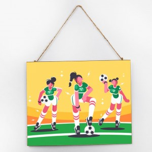 """Football""""Sport"",Customize Wooden Signs"