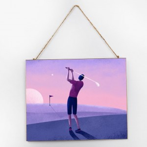 """Golf""""Sport"",Customize Wooden Signs"