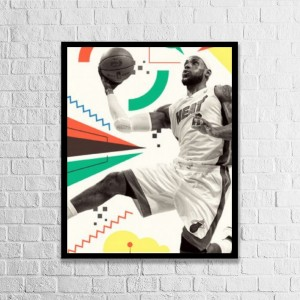 """Basketball""""customize"" Vertical Wood Pallet Design Wall Art Sign Plaque with Frame"