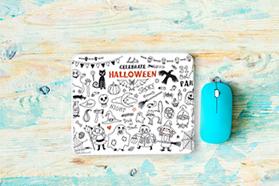 """Halloween Celebration"" mouse pad"