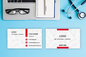 """Dark Fringe"" Horizontal Tent Fold Folded Business Card  ,White Cream, Quantity 100 sheets per pack"