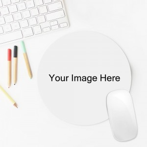 """Customize Round Mouse pad 7.75""""X7.75"""""""