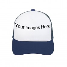 Custom Adult Blue Color Trucker Hat