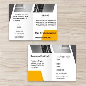 """Building"" brochure two-fold"