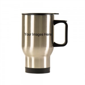 Silver Car Travel Mug 14.8oz
