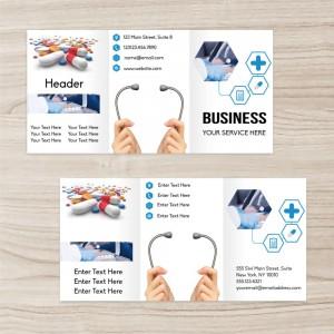 """Medical"" brochure three-fold"