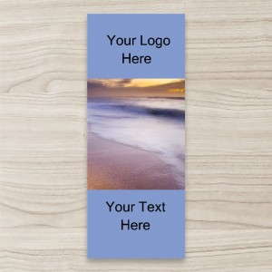 """Beach Image View"" PULL UP/ RETRACTABLE BANNER"