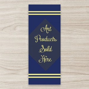 """Art Products"" PULL UP/ RETRACTABLE BANNER"