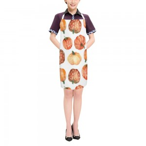 """Halloween Pumpkin Arts"" Adult apron 27.5"" x 31.5"""