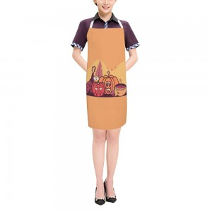 """Halloween Music"" Adult apron 27.5"" x 31.5"""