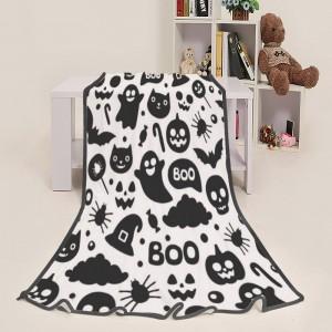 """""""Halloween Magic Boo"""" Blanket 39""""x50"""""""