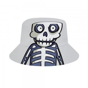 """Halloween CARTON Skull"" Adult Fisherman's Hat"