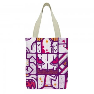 """Spooky"" Tote Bag  double-sided"