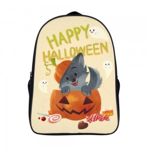 """Animal"" ""Pumpkin"" Backpack School Bag 11"" x 15.7"" x 6.3"""