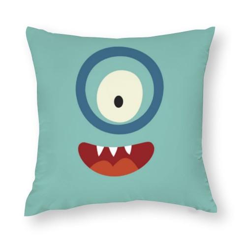 """Cute"" ""Big eye""  Cotton material Decorative  pillowcase"