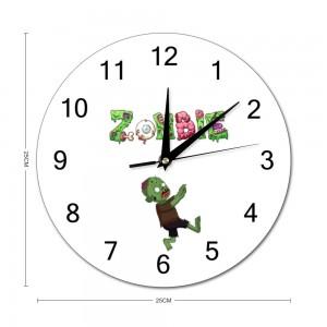 """creepy''  Stylish wall clock Round  9.8"" x 9.8"""