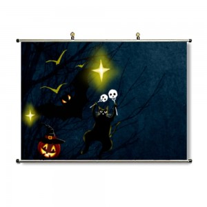 """Halloween""""customize"" Horizontal Canvas Modern Wall Art Pictures Signs"