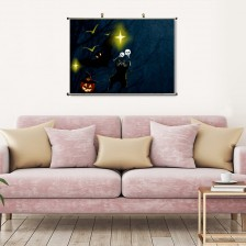 """""""Halloween""""""""customize"""" Horizontal Canvas Modern Wall Art Pictures Signs"""
