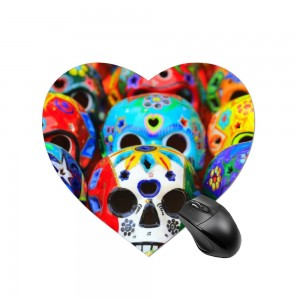 """Halloween Skulls Design"" mouse pad"