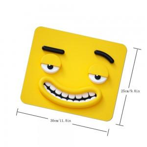 """Halloween Emoji"" mouse pad"