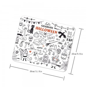 """Halloween Celebration"" mouse pad"