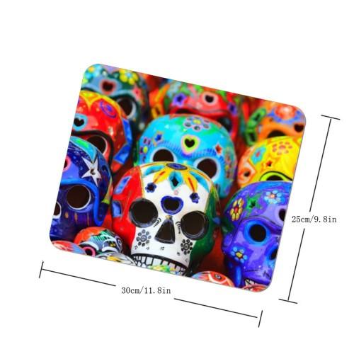 """Halloween Skulls Design"" mouse pad"