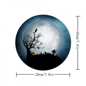 """Halloween Full Moon"" mouse pad"