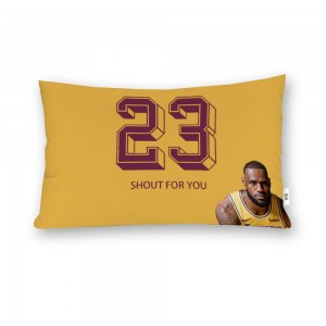 """""""Basketball"""" Cotton material Decorative Doule-sided pillowcase 20""""x 30"""""""