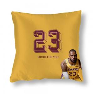 """""""Basketball"""" Blue Satin pillowcase"""