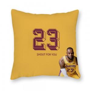 """""""Basketball"""" Canvas pillowcase"""