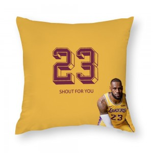 """Basketball""  Cotton material Decorative  pillowcase"