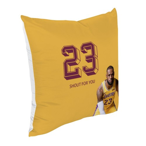 """""""Basketball""""  Cotton material Decorative  pillowcase"""