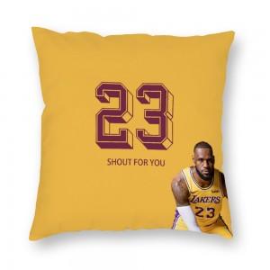 """""""Basketball"""" Plush fabrics pillowcase"""